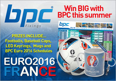 BPC Fixing announces competition to win Euro 2016 merchandise